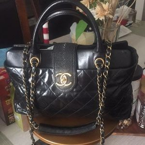 Authentic Chanel Bindi CC Tote